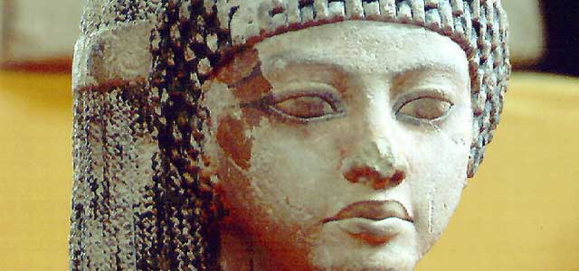 공주의 두상 이집트