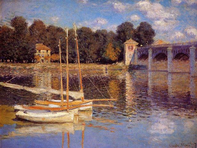 Le pont d`Argenteuil